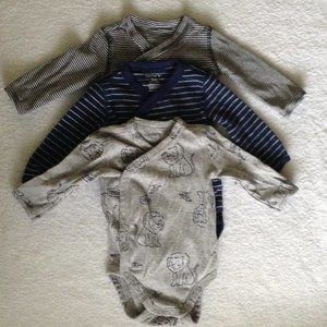 Carter's Side Snap BodySuit Long Sleeve 3Months